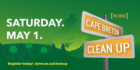 The Great Cape Breton Clean Up!  May 1 tickets