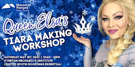 *FREE* Children's Tiara Making Workshop & FROZEN Sing-A-Long w/ QUEEN ELSA tickets