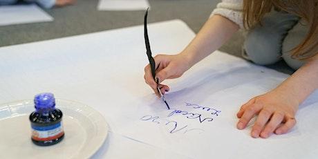 Atelier de caligrafie  cu bucurie/ Vârstă participanți 6-10 ani tickets