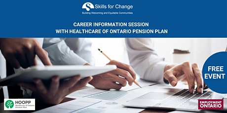 Career Information Session with Healthcare of Ontario Pension Plan tickets