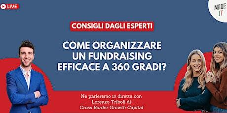 Come Organizzare un Fundraising Efficace a 360 Gradi? biglietti