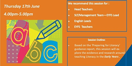 Blackpool Research School - EYFS Literacy Tool tickets