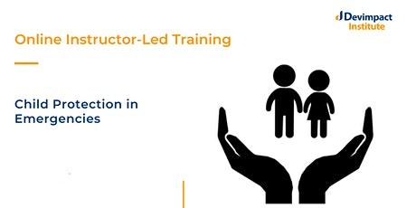 Training on Child Protection in Emergencies tickets