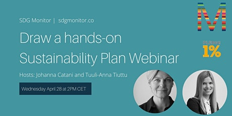 Draw a hands-on Sustainability Plan | organized by SDG Monitor tickets