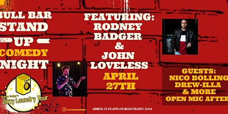 Rodney Badgers Laundry Tour at Bull Bar tickets