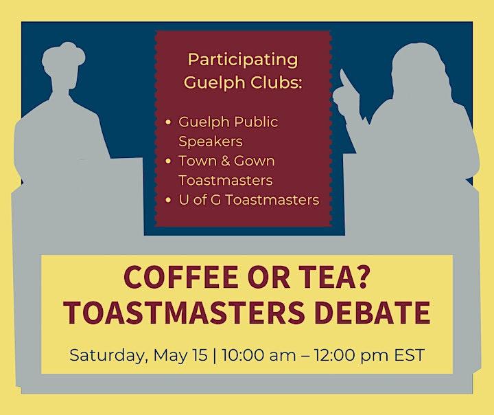 Coffee or Tea?: Toastmasters Debate image