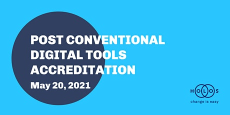 Holos Post Conventional Digital Tools Accreditation Course tickets