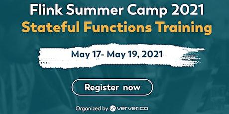Apache Flink Summer Camp 2021 - Stateful Functions tickets