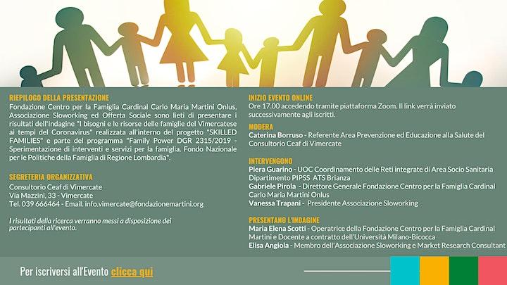 Immagine Presentazione Indagine Progetto Skilled Families