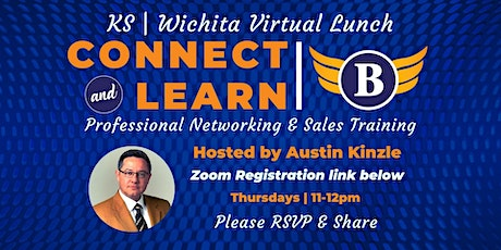 KS| Wichita Virtual Lunch Professional Networking & Sales tickets