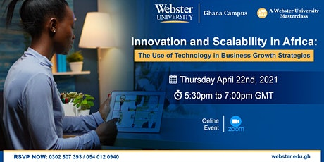 Webster University Business Masterclass tickets
