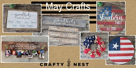 May 13thPublic Workshop at The Crafty Nest  - Whitinsville tickets