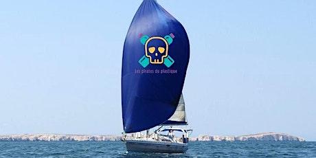 Embarquez avec la flottille des Pirates du plastique billets