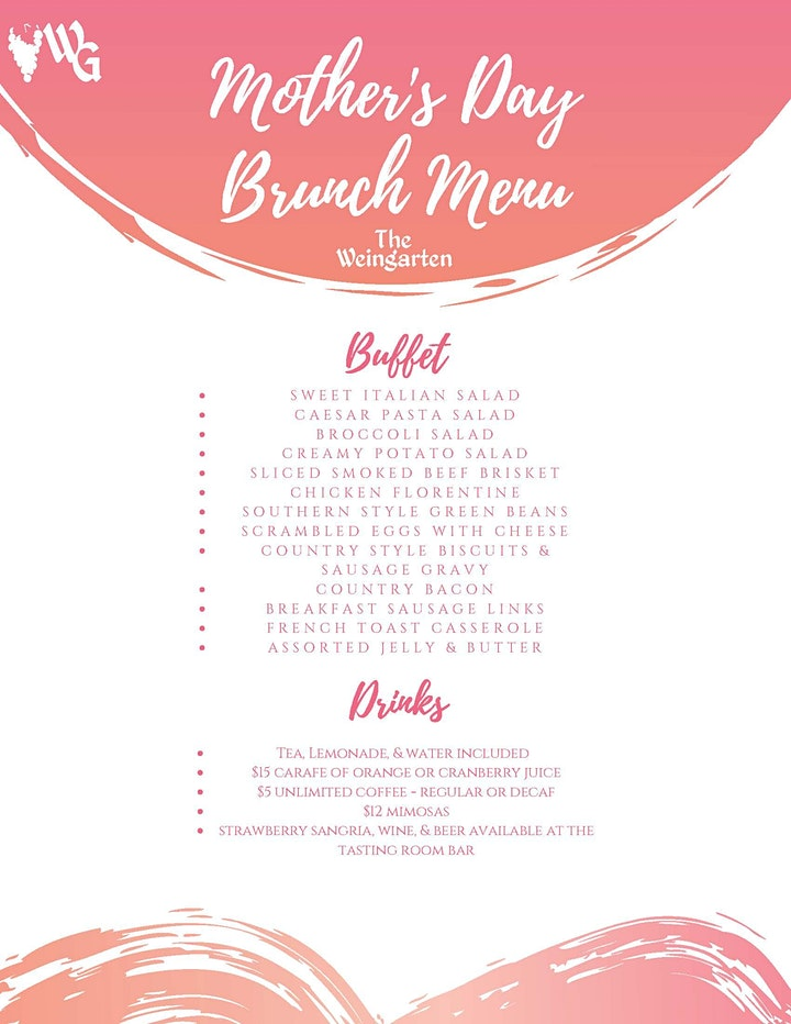 Mother's Day Brunch at The WG image