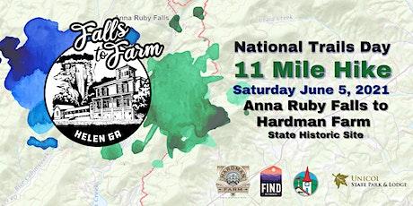 National Trails Day: Falls 2 Farm tickets