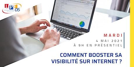 UP'NUMERIQUE | «Comment booster sa visibilité sur internet» billets
