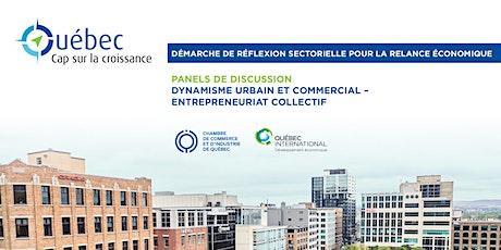 Québec : Cap sur la croissance – Panels (Dynamisme urbain et entreprenariat billets