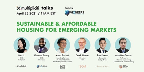 Multipliciti Talks: Sustainable & Affordable Housing for Emerging Markets tickets