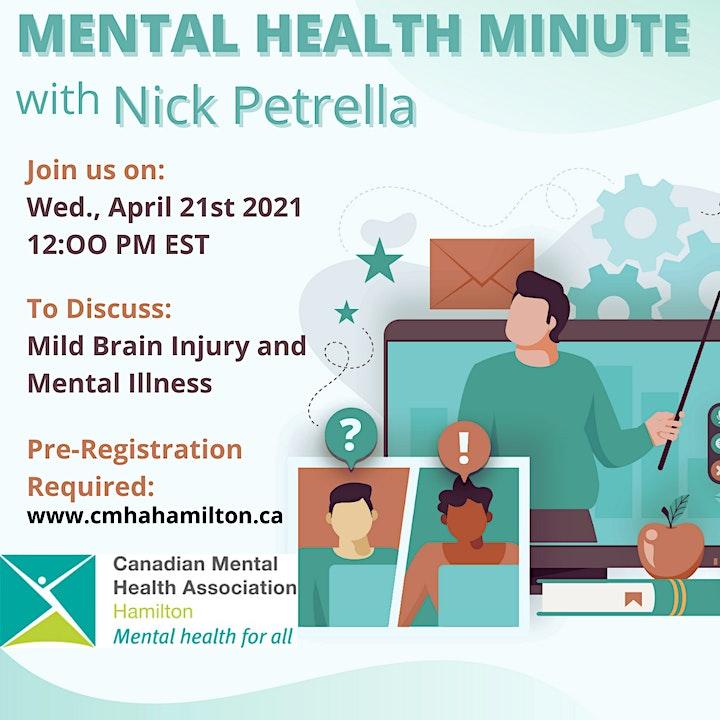 MHM: Mild Brain Injury and Mental Illness image