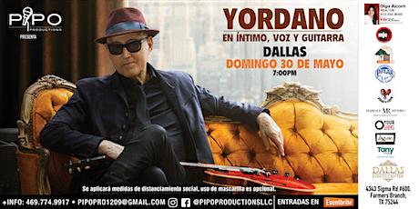 YORDANO EN INTIMO, VOZ Y GUITARRA tickets