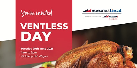 Middleby UK & Lincat's Ventless Day tickets