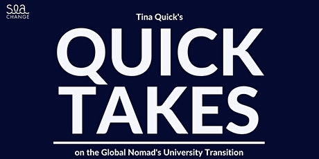 Quick Takes: Parents and the Transition to University tickets