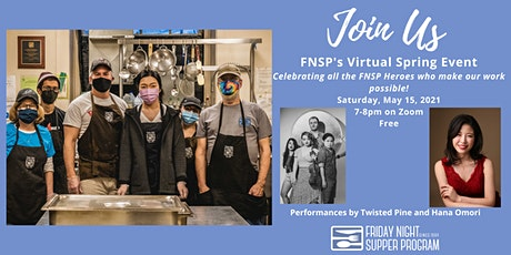 FNSP's Spring Virtual Event Celebrating FNSP Heroes tickets
