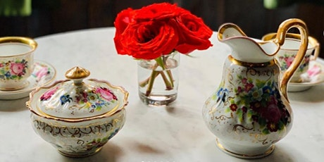 The Secret Tea Room of Hoboken:  Second Seating 10:30-12:00 PM  $75 pp tickets