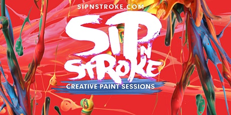 Sip 'N Stroke | 8pm - 11pm | Sip and Paint Party tickets