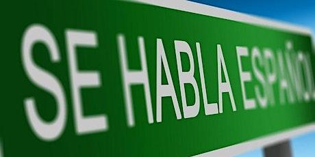 Ateliers de conversation en espagnol en direct sur Zoom tickets
