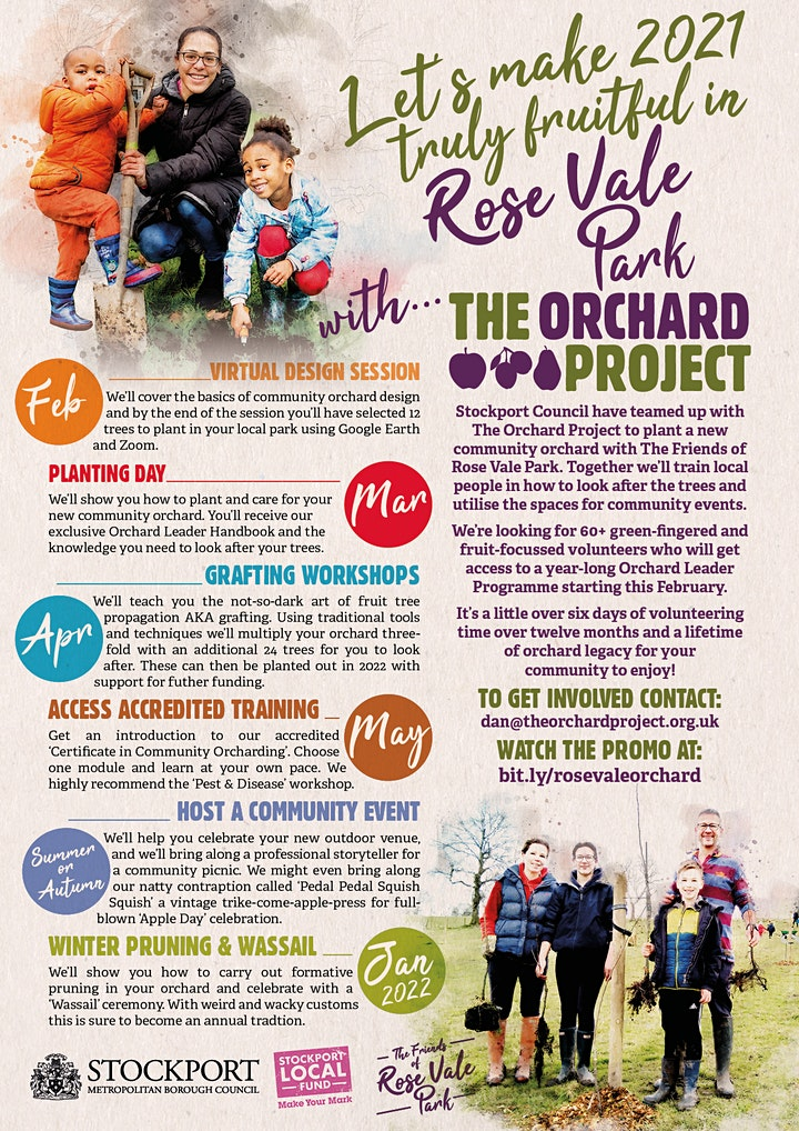 Become an Orchard Leader - Rose Vale Park - Planting Day image