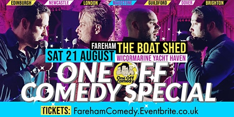 One Off Comedy Special at The Boat Shed – Fareham! tickets