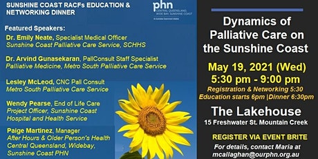 Dynamics of Palliative Care - RACF Education & Networking Dinner Event tickets