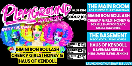 PLAYGROUND MANCHESTER - Launch event (Bimini, Cheeky Girls & more) tickets