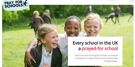 Pray For Schools Wales: Prayer Zoom tickets