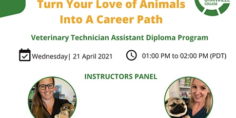 Turn Your Love of Animals Into A Career Path tickets