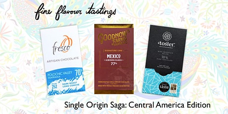 Chocolate Tasting - Single Origin Saga: Central America tickets
