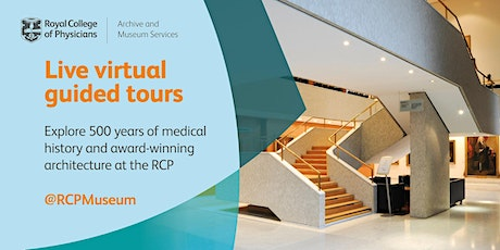 Live virtual guided tour of the Royal College of Physicians tickets