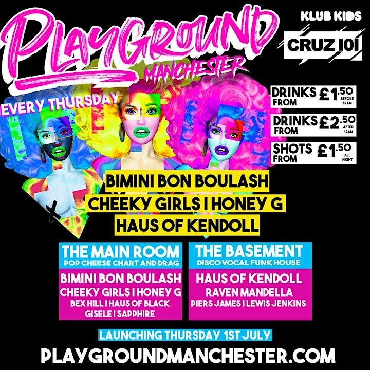 PLAYGROUND MANCHESTER - Launch event (Bimini, Cheeky Girls & more) image