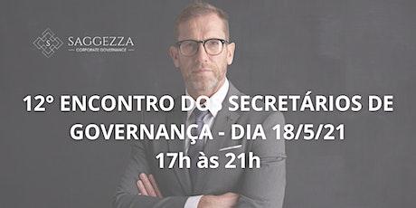 12° ENCONTRO DOS SECRETÁRIOS DE GOVERNANÇA ingressos