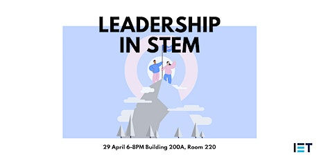 Leadership in STEM tickets