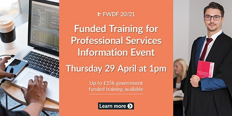 Funded Training for Professional Services tickets