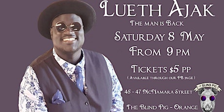 Lueth Ajak - Live & Local at The Blind Pig tickets