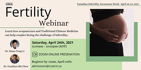 Free Fertility Webinar tickets