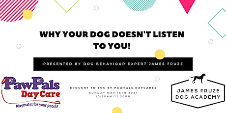 Why your dog doesn't listen to you! tickets