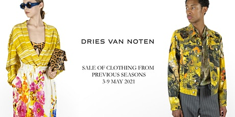 Sale Previous Seasons (Clothing & Accessories) May 2021 - Dries Van Noten tickets