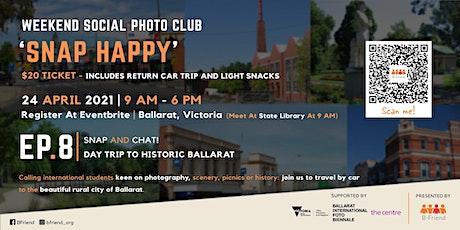 Ballarat Day Trip - 'Snap Happy' Student Social Photography Club tickets