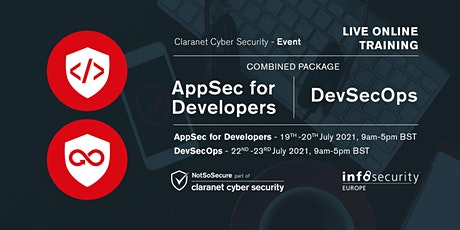 InfoSec Conference Combined Package - AppSec for Developers & DevSecOps tickets
