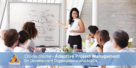 eCourse: Adaptive Project Management for Development (August 2, 2021) billets
