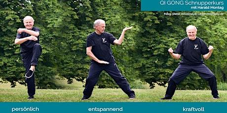 QI GONG Schnupperkurs - Innere Ruhe - Vitalität - mehr Selbstwertgefühl Tickets